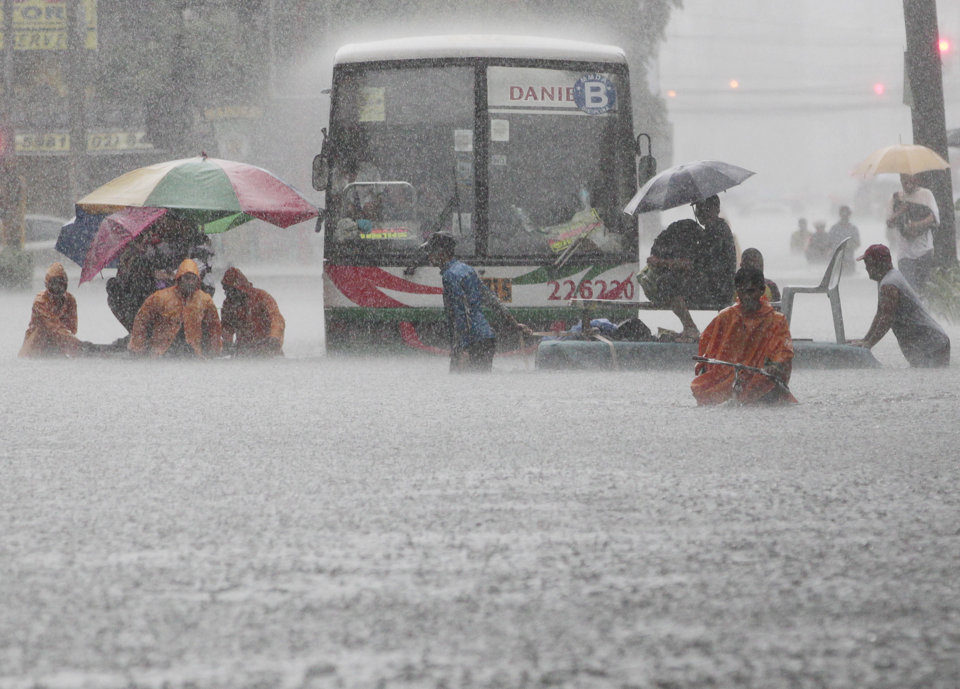 More than 600,000 people have been affected by the floods in and around Metro Manila.