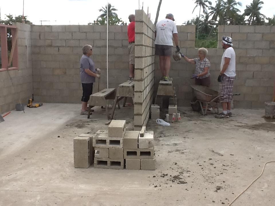 Tonga building