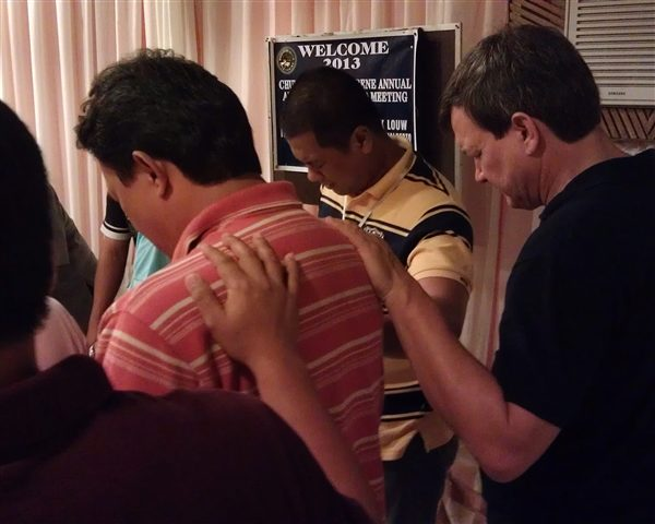 Praying over the new DS
