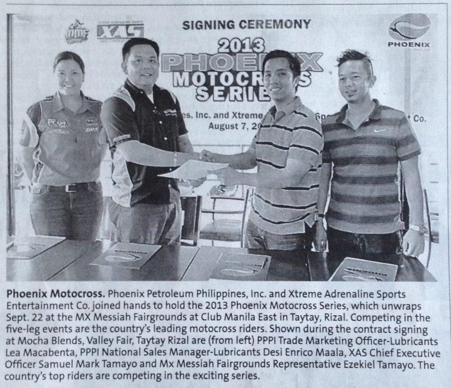 Manila Standard News Article.