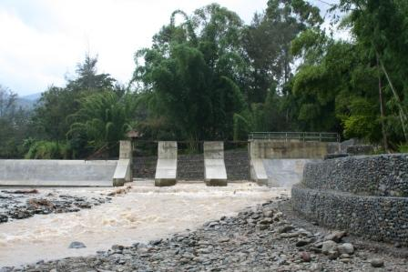 Hydro Project under construction in Papua New Guinea