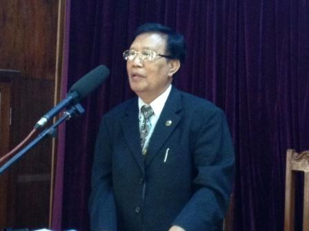 Dr. Robin Seia, Founder of the Church of the Nazarene in Myanmar