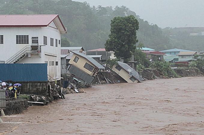 Flooding Solomon Islands. Photo: Aljazeera.com
