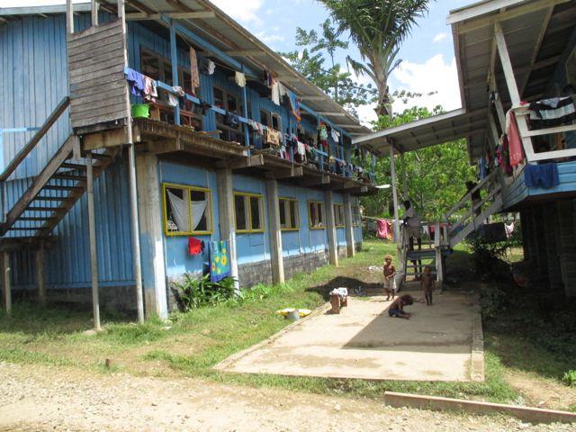 Government evacuation center