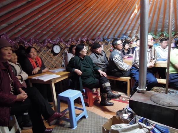 Yurt Church Image