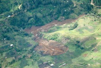 Landslide in Papua New Guinea