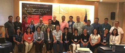 Educators meet in Baguio.