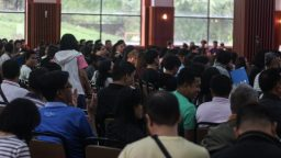 discipleship summit crowd
