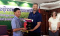 Churches in Cambodia Receiving Bibles