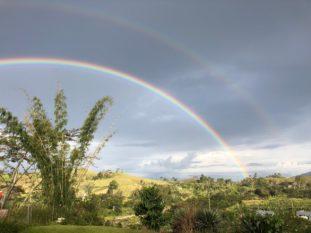 Rainbow over Kudjip