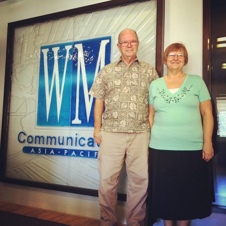 Rev. Larry & Elaine Cornett, retiring from Guam First Church of the Nazarene.