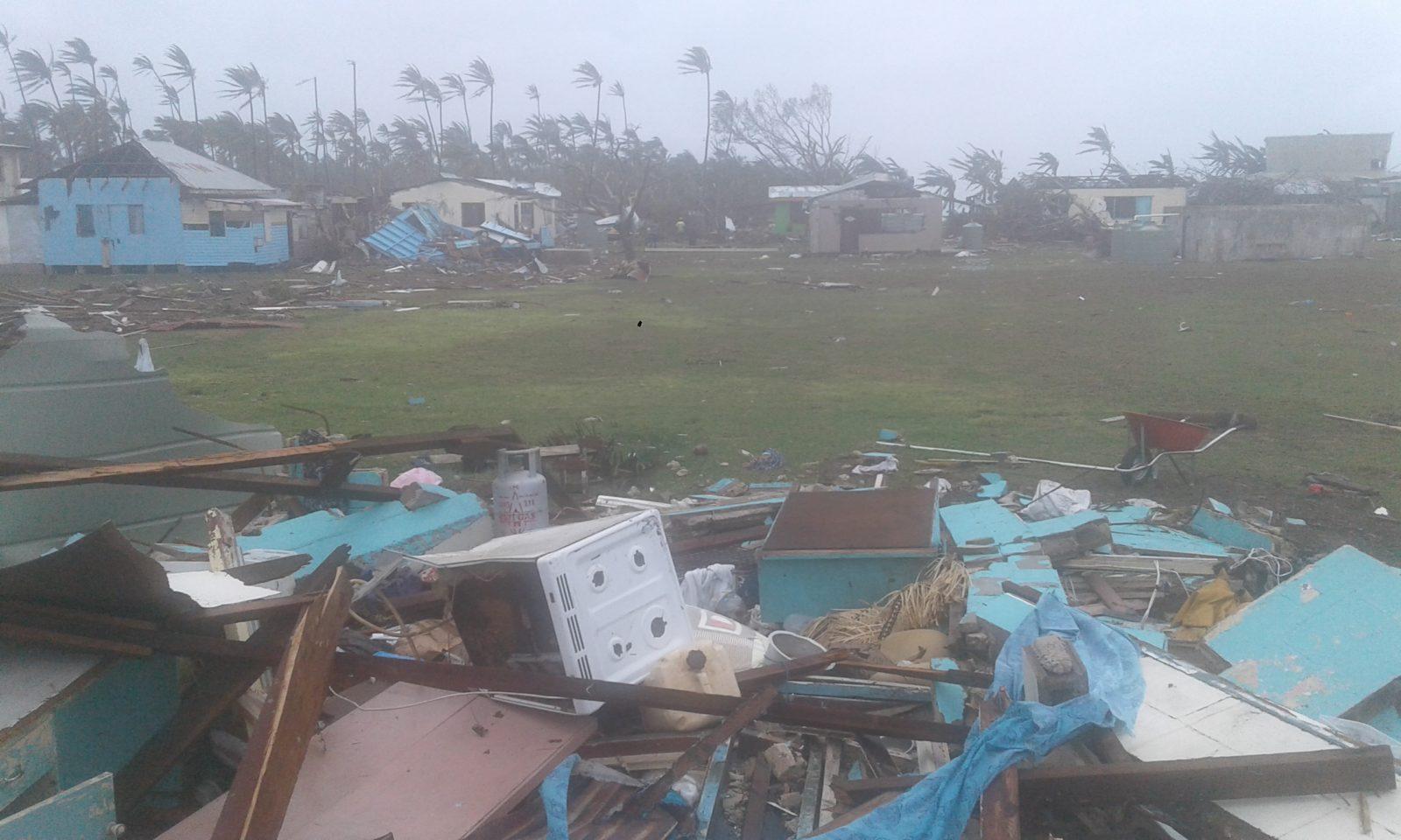 Many villages were leveled.