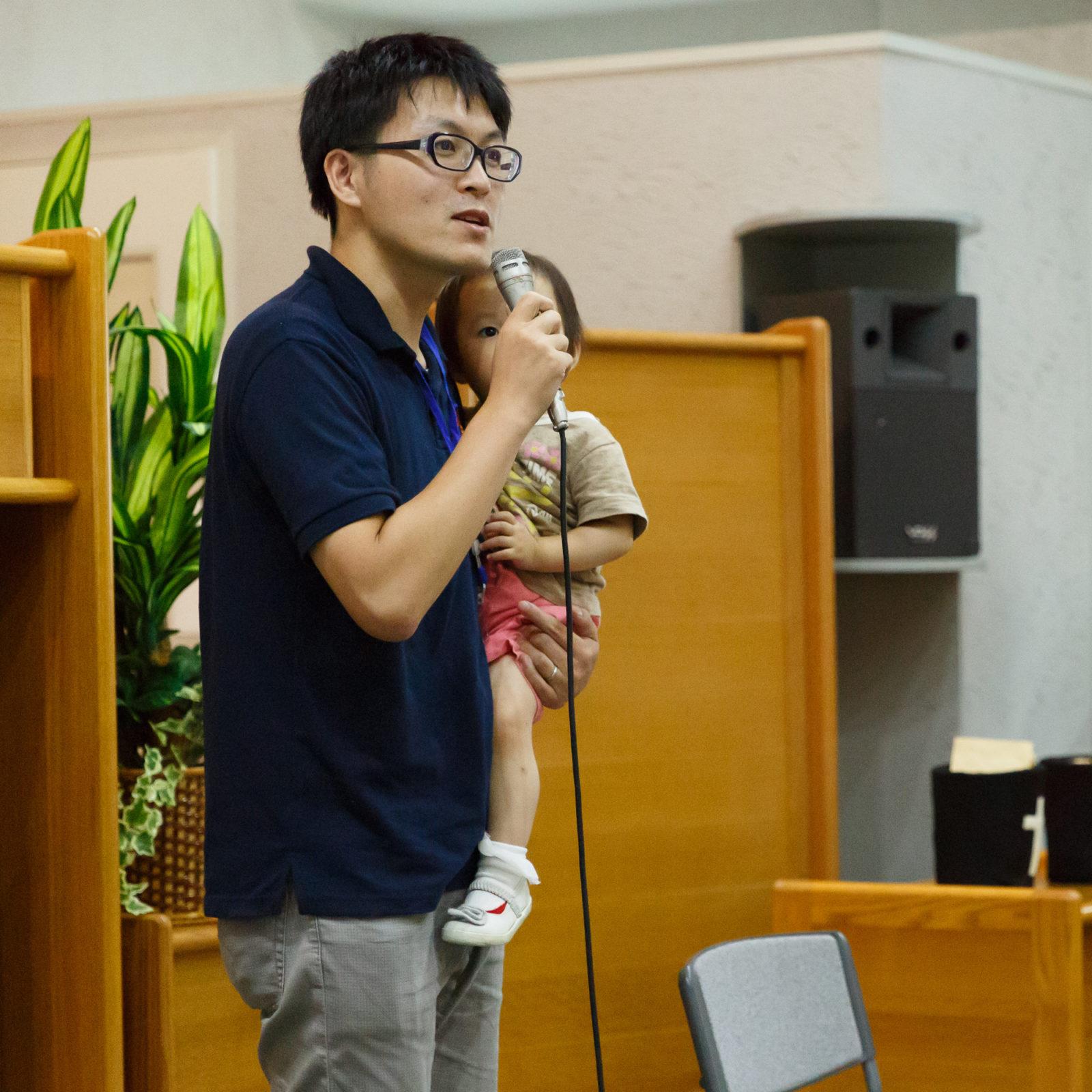 Rev. Shoei Abe, current NYI Japan president