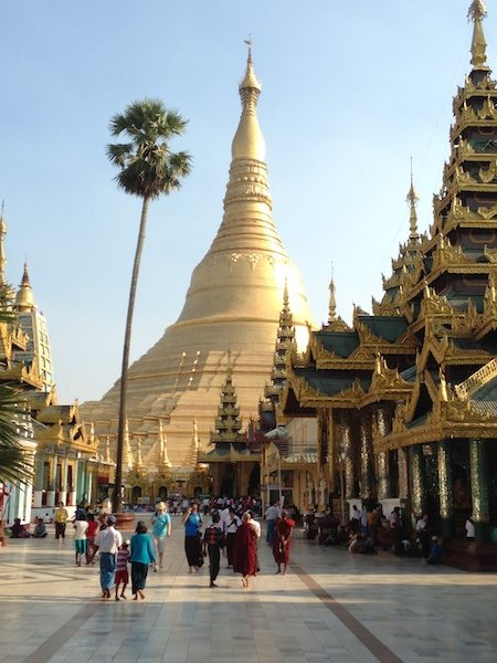 Pagoda in Burma, not far from the Myanmar branch of Southeast Asia Nazarene Bible College.