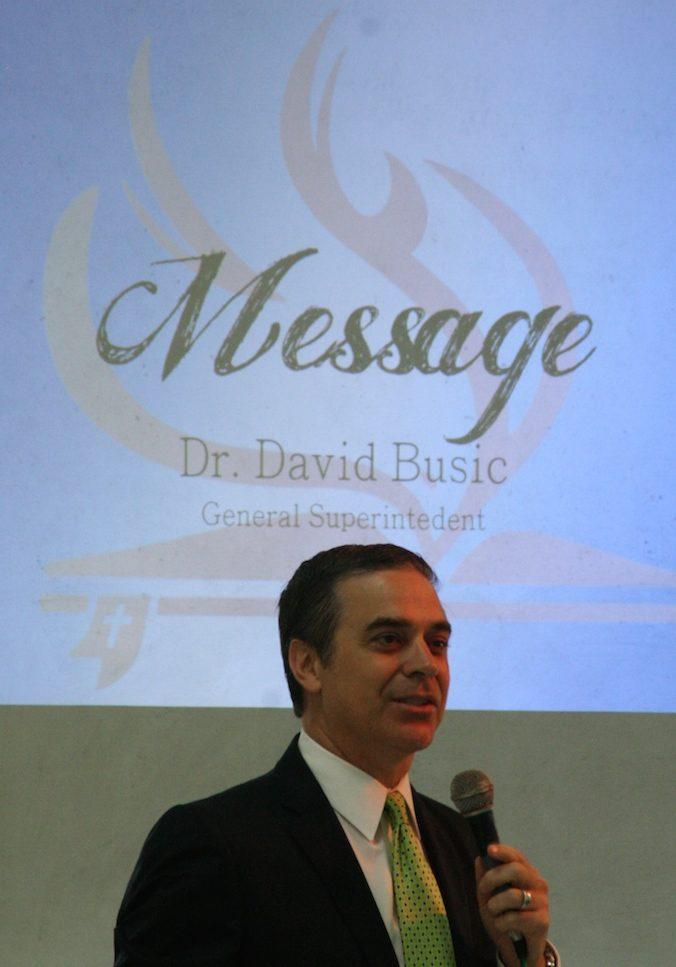David A. Busic General Superintendent