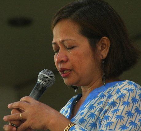 Intercessory prayer was a key focus of the event.