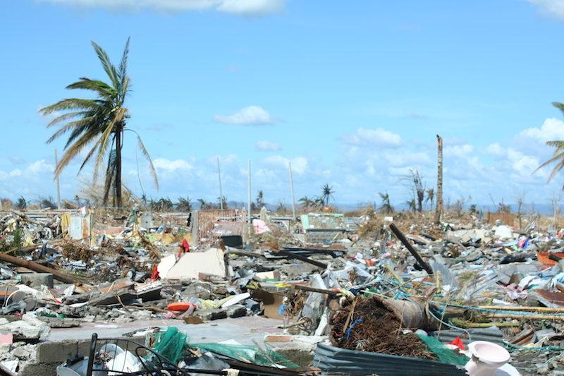 The devastation in the wake of Super Typhoon Yolanda was massive.