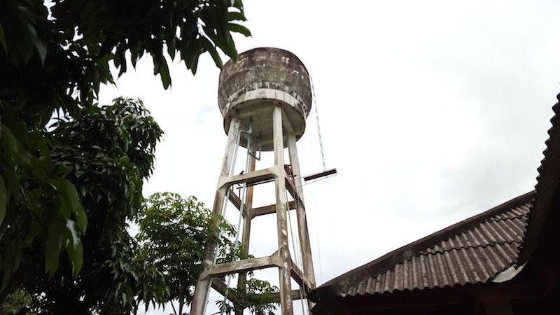 The water tower