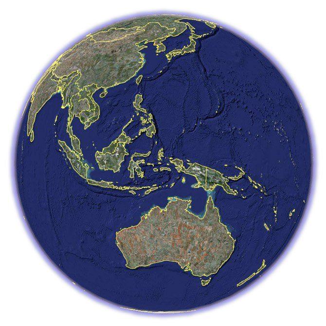 satellite-map-of-asia-pacific-region